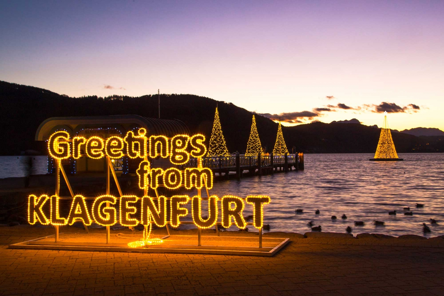 Advent in Klagenfurt am Wörthersee